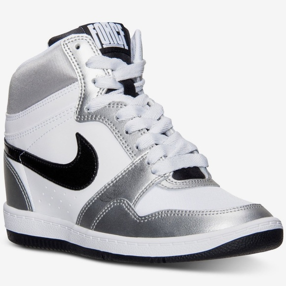 0332339d9f158 Nike Force Sky Hi Wedge Sneakers. M_5c70bfb8fe515129bbb90351
